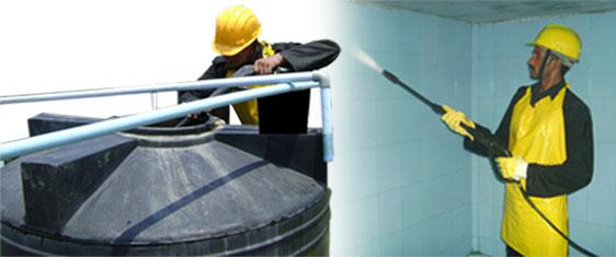 تنظيف خزانات المياه بالدمام