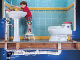 طريقة تسليك مجاري الحمامات
