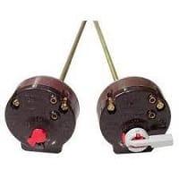 الثرموستات وهو جهاز يتحكم في درجة حرارة سخانات المياه