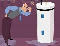 كيفية إيجاد وإصلاح التسرب في سخان المياه الخاص بك .